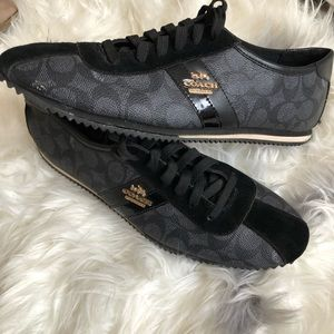 Genuine leather Coach Sneakers